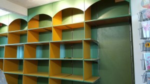 The old shelving